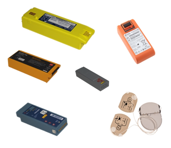 AED's (Defibrillator) Batteries