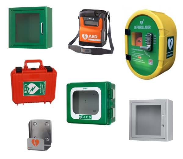 AED (Defibrillator) Cabinets, Brackets, Signs and Carry Cases
