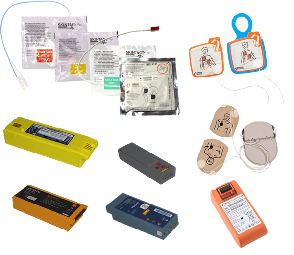 AED / Defibrillator Batteries & Accessories