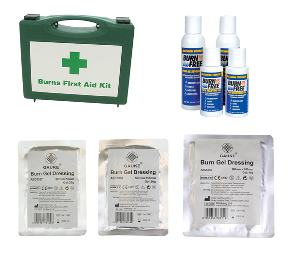 First Aid for Burns