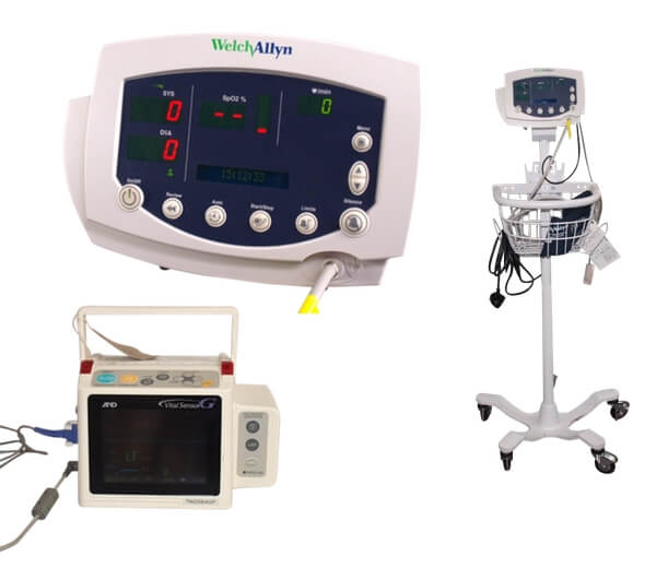 Reconditioned Patient Monitors (Vital Signs)