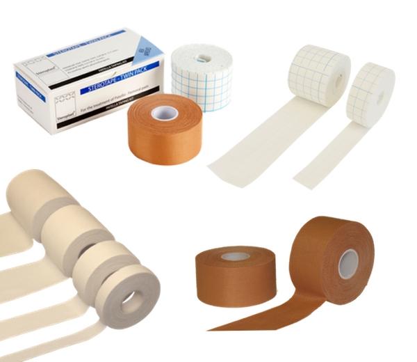 Zinc Oxide & Fixation Tapes
