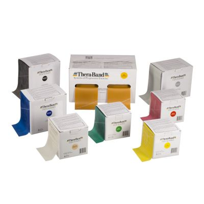 Theraband 45.7m (50 yards) Length Dispenser Box