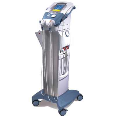 Advanced Therapy System with Vacuum Module on Cart Storage System