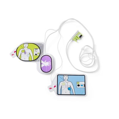 CPR Uni-Padz II Universal (Adult/Pediatric) electrodes for use with Zoll AED 3