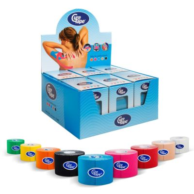 CureTape Kinesiology Tape 5cm x 5m
