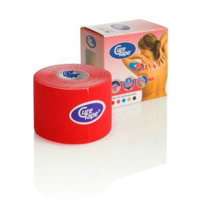 CureTape Kinesiology Tape 5cm x 5m - Red