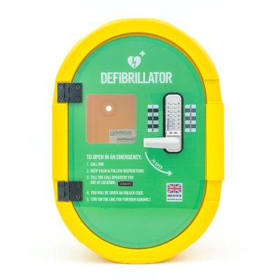 Defibrillator Lockable Cabinet