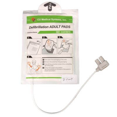 iPad Adult AED Replacement Defibrillator Electrode Pads- 1 Pack