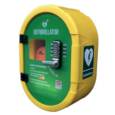 Defibrillator Lockable Cabinet