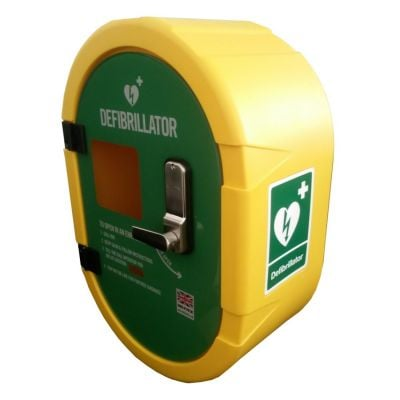 Defibsafe 2 Cabinet- Yellow, non Lockable, Internal Tranformer.