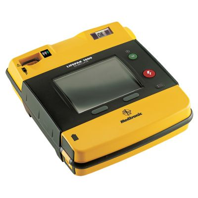 Physio-Control Lifepak® 1000 – Semi Automatic Defibrillator - ECG Display + Manual Override