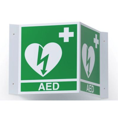 Ilcor 3D Wall Sign (AED)