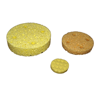 Sponges for Vacuum Cups