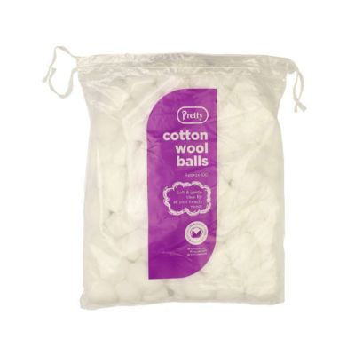 Cotton Wool Balls - Bag Of 100