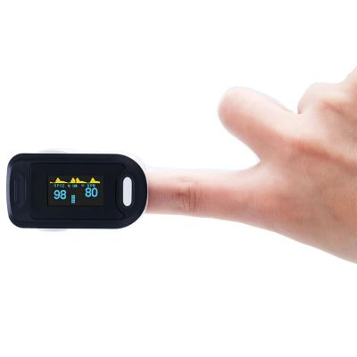 Fingertip Pulse Oximeter - Measures SP02 Oxygen Saturation