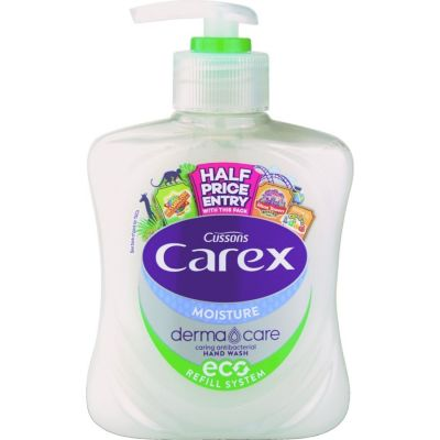 Carex Moisture Plus Antibacterial Hand Wash - 250ml
