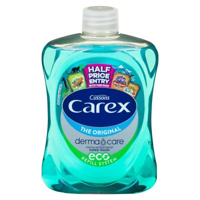 Carex Original  Antibacterial Hand Wash Squeeze Bottle / Refill 250ml