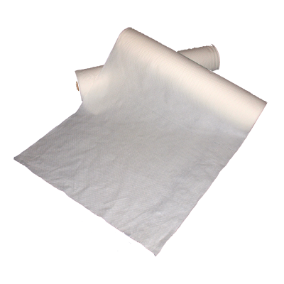"Paper Roll 50cm (20"") Wide x 40m Length White Comfort Touch"