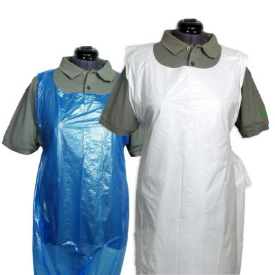 Disposable Aprons 69cm x 116cm (16 Microns Thick) - Roll of 200