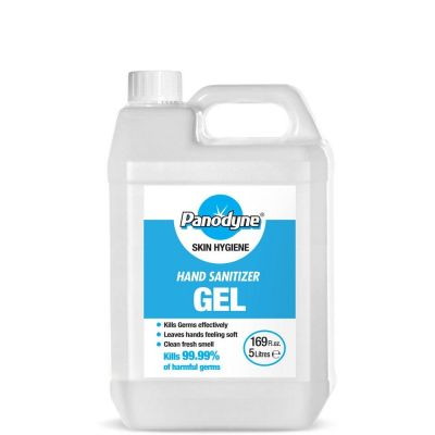 Hand Sanitising Gel (5ltrs) with 70% Alcohol - Medical Grade