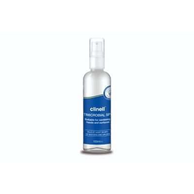 Clinell Hand and Surface Sanitising Spray - Non-Alcohol (100ml)