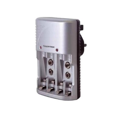 Battery Charger - PP3, AA & AAA