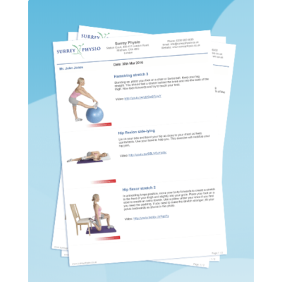 Rehab My Patient Exercise Prescription Software