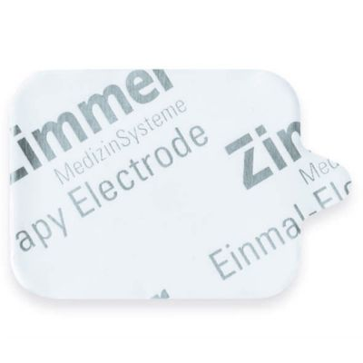 "Zimmertrode - Self Adhesive Electrodes Small 32mm x 40mm (1.25""x1.5"") - single use only - Box of 400 - Expire 02/20"
