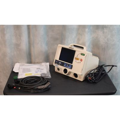 Lifepak 20 Defibrillator & ECG with Battery , New Defib Pads & Set of ECG Electrodes.