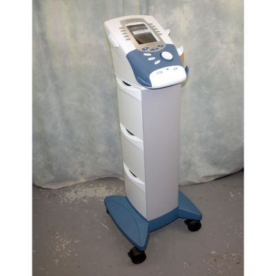 Chattanooga Advanced Therapy System - Ultrasound, Interferential, Muscle Stim - Colour Screen on Cart