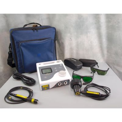 EMS Physio Solo Laser 755 with 100mW Single Probe & 60 Diode Cluster