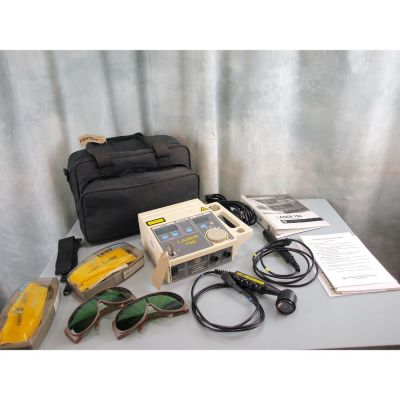 EMS Physio Solo Battery & Mains Laser 750 with 100mW Single Probe &  Diode Cluster