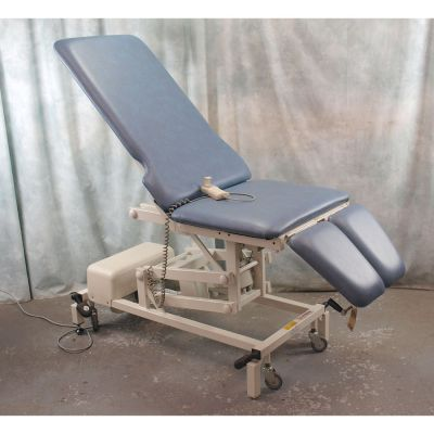 Akron Podiatry / Orthopaedic Chair Electric with Light Blue Upholstery