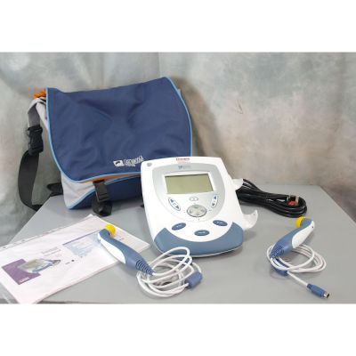 Chattanooga Intelect Mobile Dual Frequency Ultrasound 2776 with 2 Treatment heads