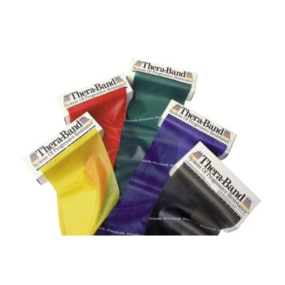 Theraband 5.5m (6yards) Dispenser Box Range