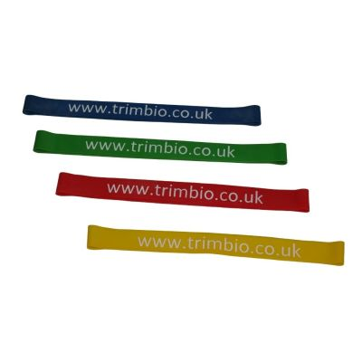 Resistive Exercise Band Loop 30cm x 2.5cm (Packs of 10)