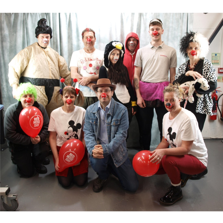 Trimbio Red Nose Day Event