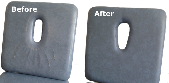 Couch upholstery repairs