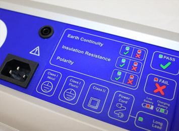 Portable Appliance Testing in clinics